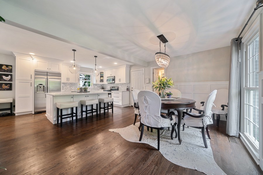Real Estate Photography - 366 Indian Dr, Glen Ellyn, IL, 60137 - Kitchen / Dining Room