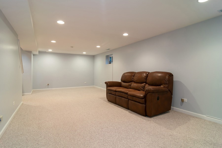 Real Estate Photography - 501 S. Brighton Lane, Palatine, IL, 60067 - Rec Room second view
