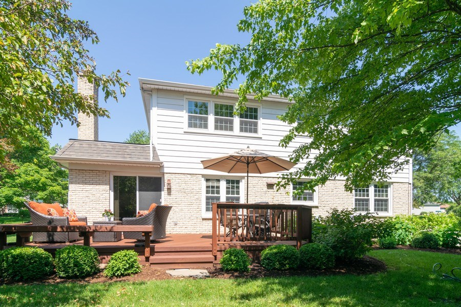 Real Estate Photography - 501 S. Brighton Lane, Palatine, IL, 60067 - Rear View