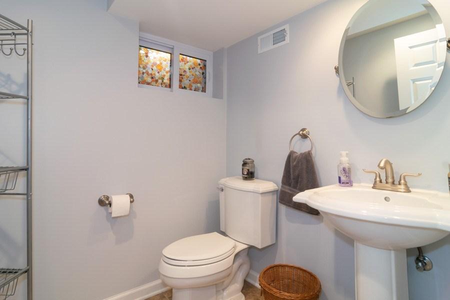 Real Estate Photography - 501 S. Brighton Lane, Palatine, IL, 60067 - Basement Bath