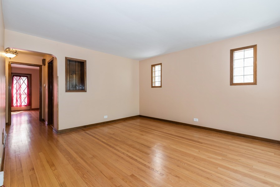 Real Estate Photography - 6751 N. Ozanam Avenue, Chicago, IL, 60631 - Living Room