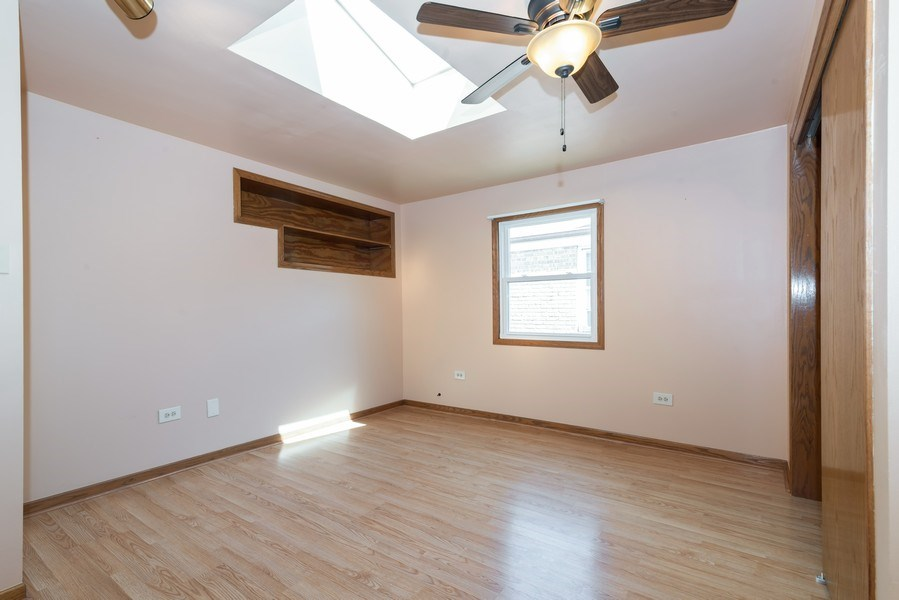Real Estate Photography - 6751 N. Ozanam Avenue, Chicago, IL, 60631 - 3rd Bedroom