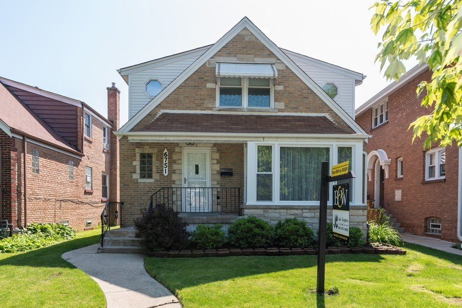 Real Estate Photography - 6751 N. Ozanam Avenue, Chicago, IL, 60631 - Front View