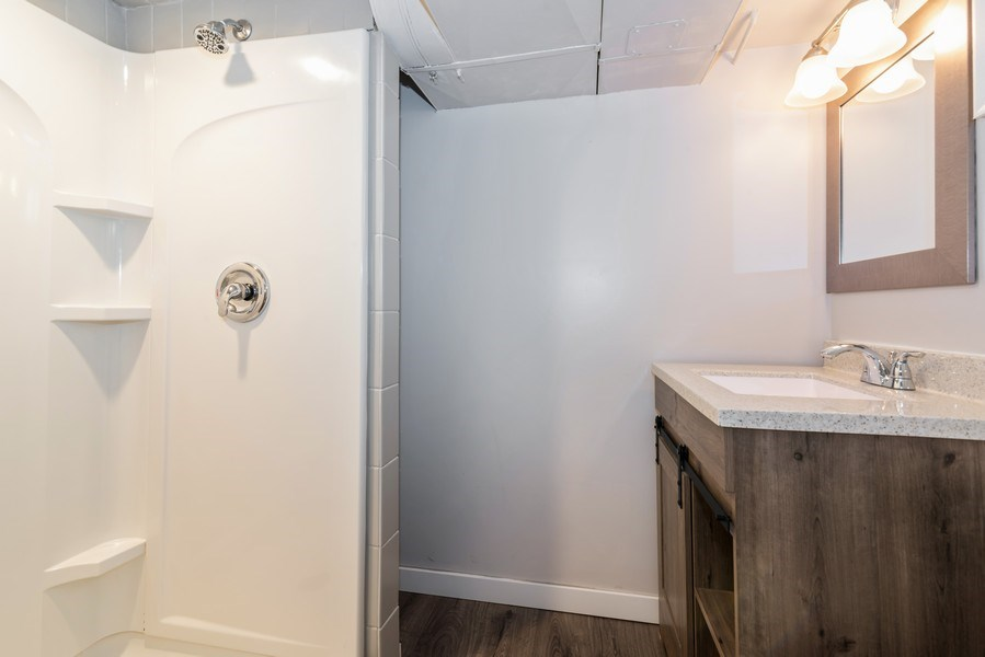 Real Estate Photography - 6751 N. Ozanam Avenue, Chicago, IL, 60631 - 2nd Bathroom