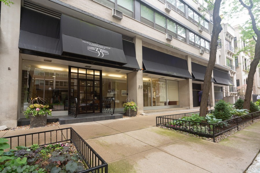 Real Estate Photography - 33 E. Cedar Street, Unit 19C, Chicago, IL, 60611 - Front View