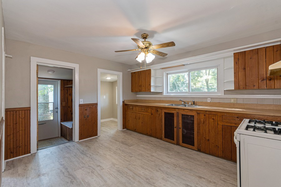 Real Estate Photography - 740 Walnut Street, Batavia, IL, 60510 - Kitchen, pantry closet, Mudroom