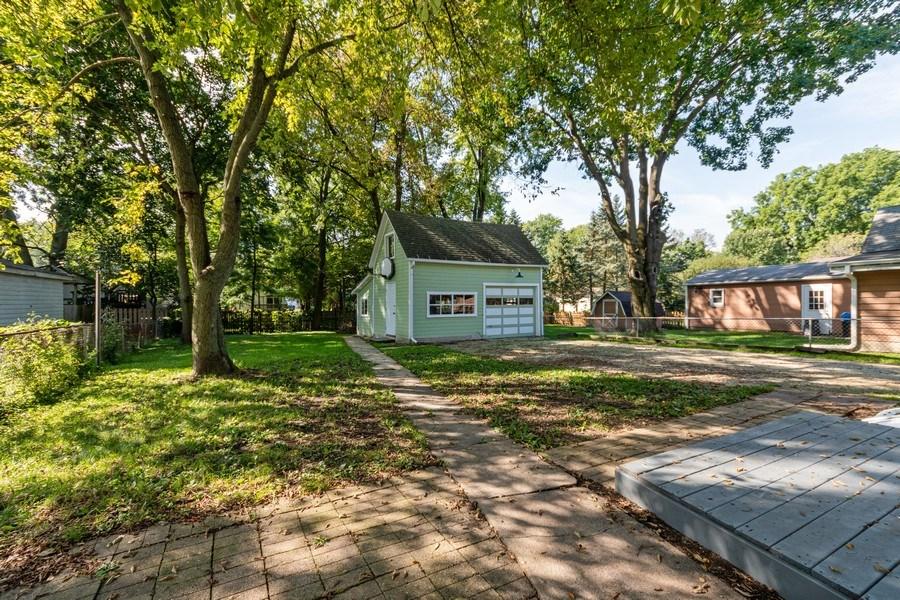 Real Estate Photography - 740 Walnut Street, Batavia, IL, 60510 - Back Yard