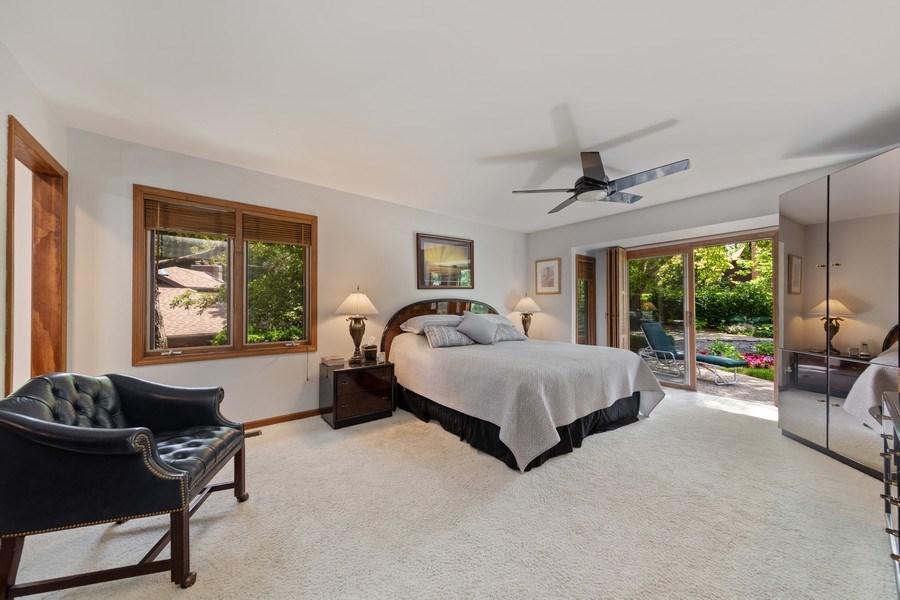 Real Estate Photography - 871 Baker Court, Glen Ellyn, IL, 60137 - Master Bedroom