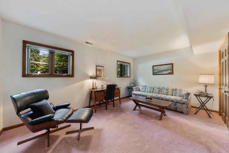 Real Estate Photography - 871 Baker Court, Glen Ellyn, IL, 60137 - Basement Bedroom