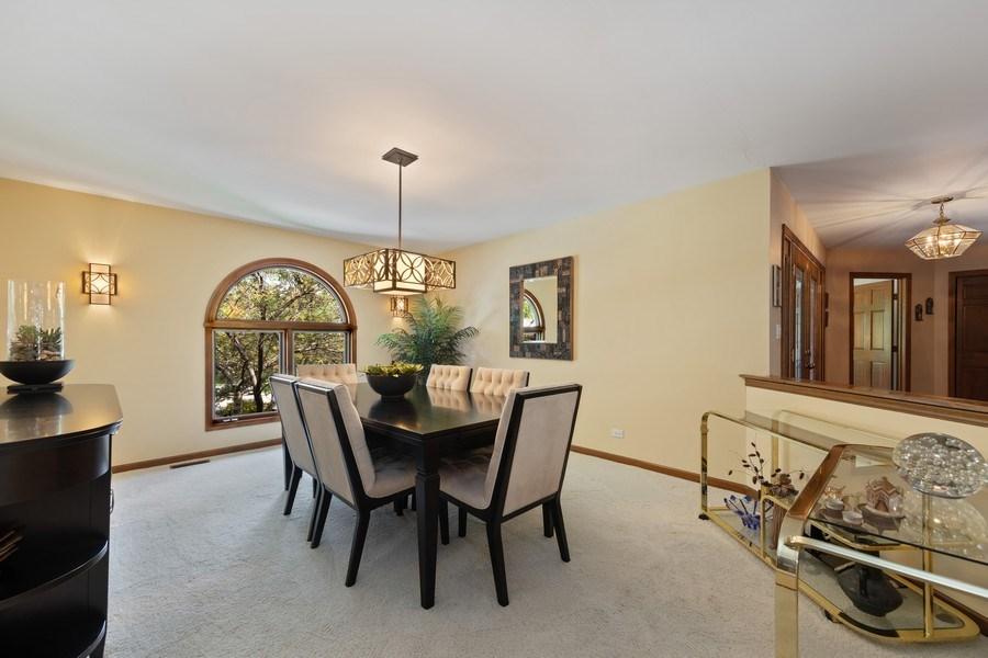 Real Estate Photography - 871 Baker Court, Glen Ellyn, IL, 60137 - Dining Room