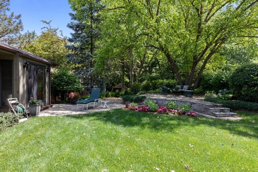 Real Estate Photography - 871 Baker Court, Glen Ellyn, IL, 60137 - Back Yard