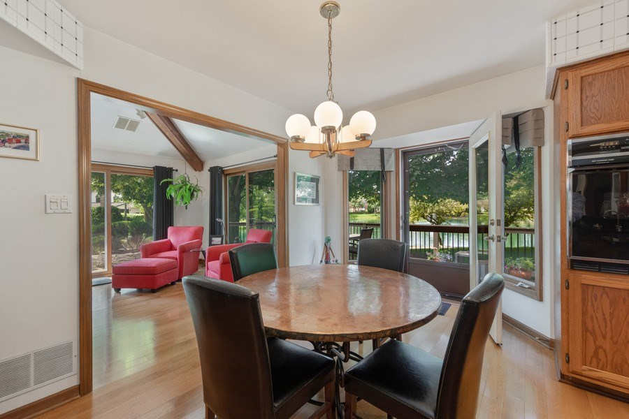 Real Estate Photography - 871 Baker Court, Glen Ellyn, IL, 60137 - Breakfast Area