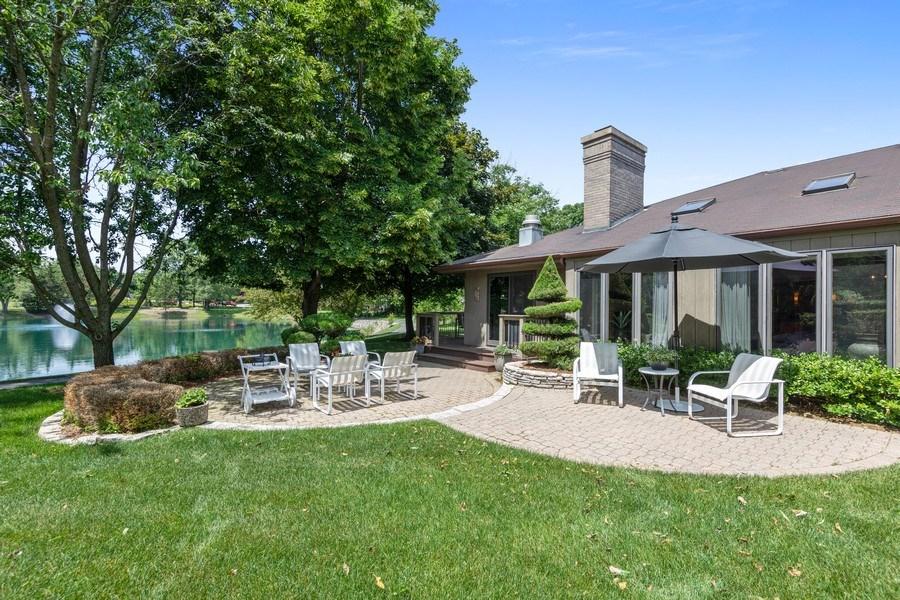 Real Estate Photography - 871 Baker Court, Glen Ellyn, IL, 60137 - Rear View