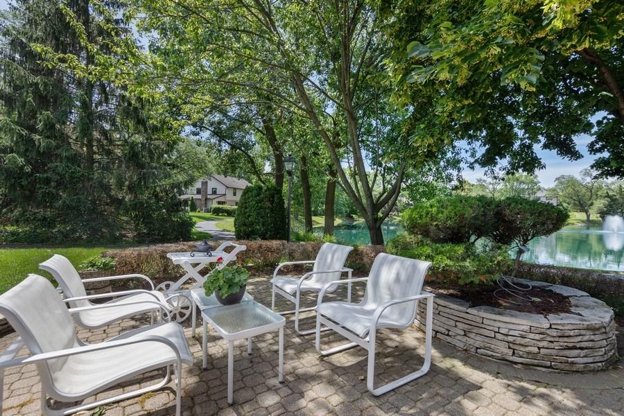 Real Estate Photography - 871 Baker Court, Glen Ellyn, IL, 60137 - Patio