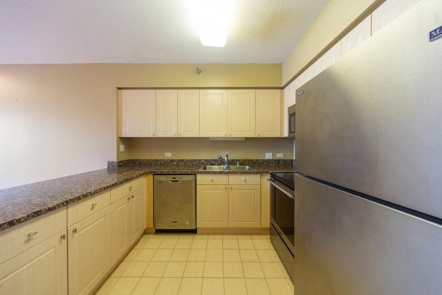 Real Estate Photography - 512 N. McClurg Court, Unit 3412, Chicago, IL, 60611 - Kitchen