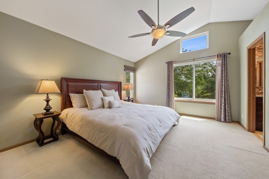 Real Estate Photography - 2015 Spice Circle, Naperville, IL, 60565 - Master Bedroom