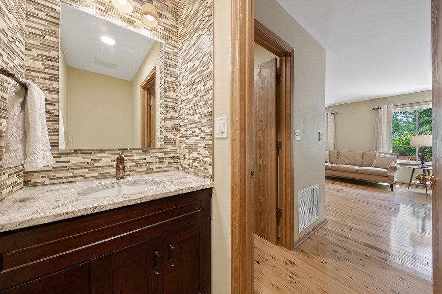 Real Estate Photography - 2015 Spice Circle, Naperville, IL, 60565 - Powder Room