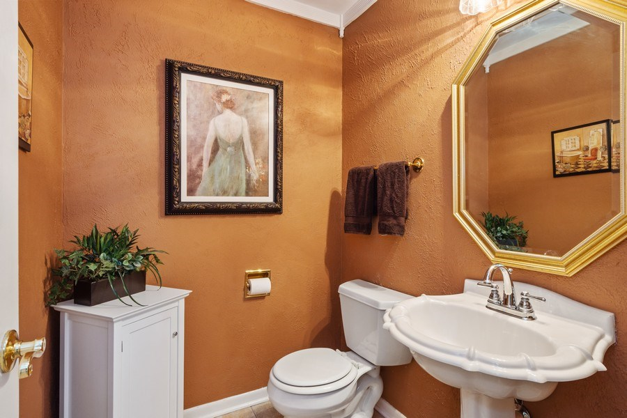 Real Estate Photography - 502 S. Reuter Drive, Arlington Heights, IL, 60005 - Powder Room