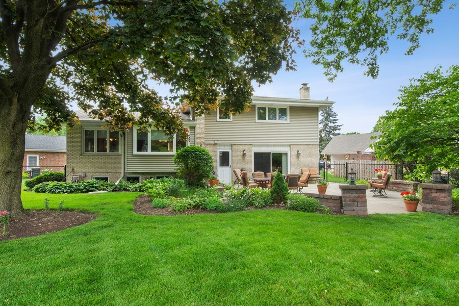 Real Estate Photography - 502 S. Reuter Drive, Arlington Heights, IL, 60005 - Rear View