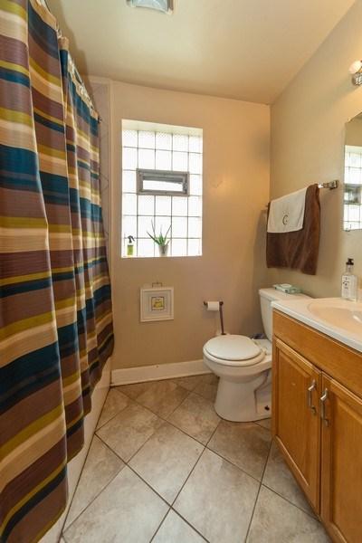 Real Estate Photography - 1028 Linden Avenue, Bellwood, IL, 60104 - Bathroom