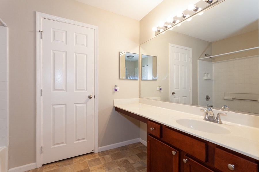 Real Estate Photography - 2442 Halsted Lane, Aurora, IL, 60503 - Master Bathroom