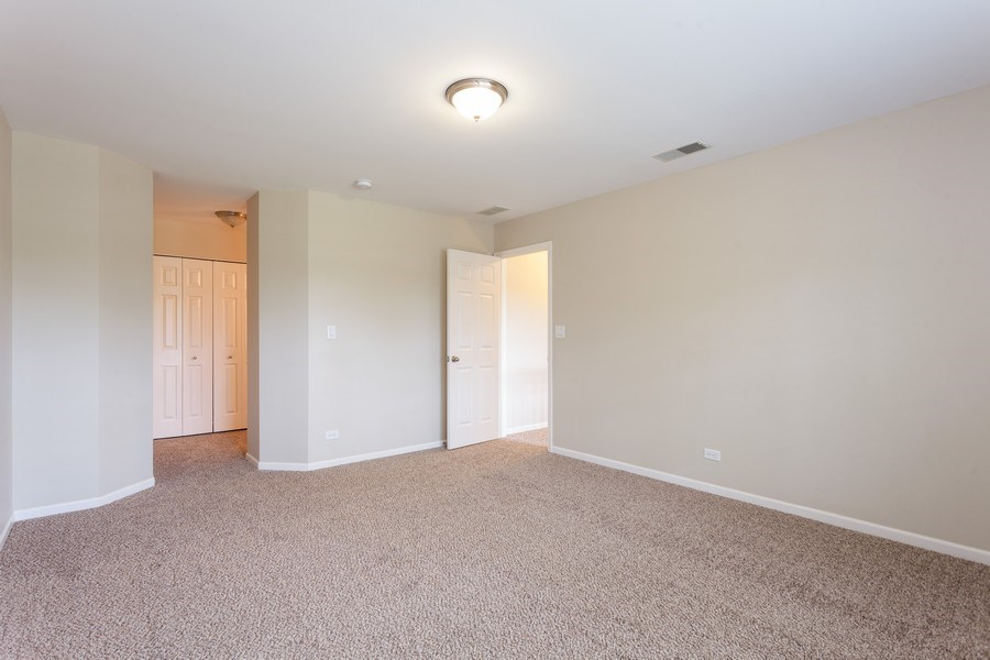 Real Estate Photography - 2442 Halsted Lane, Aurora, IL, 60503 - Master Bedroom