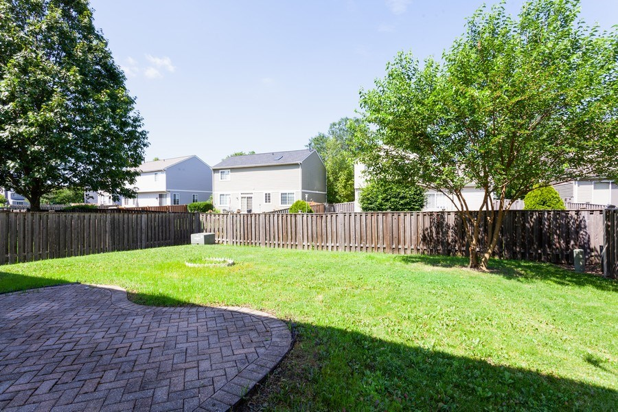Real Estate Photography - 2442 Halsted Lane, Aurora, IL, 60503 - Back Yard