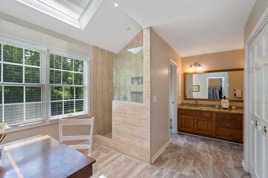 Real Estate Photography - 22480 N. Linden Drive, Lake Barrington, IL, 60010 - Master Bathroom
