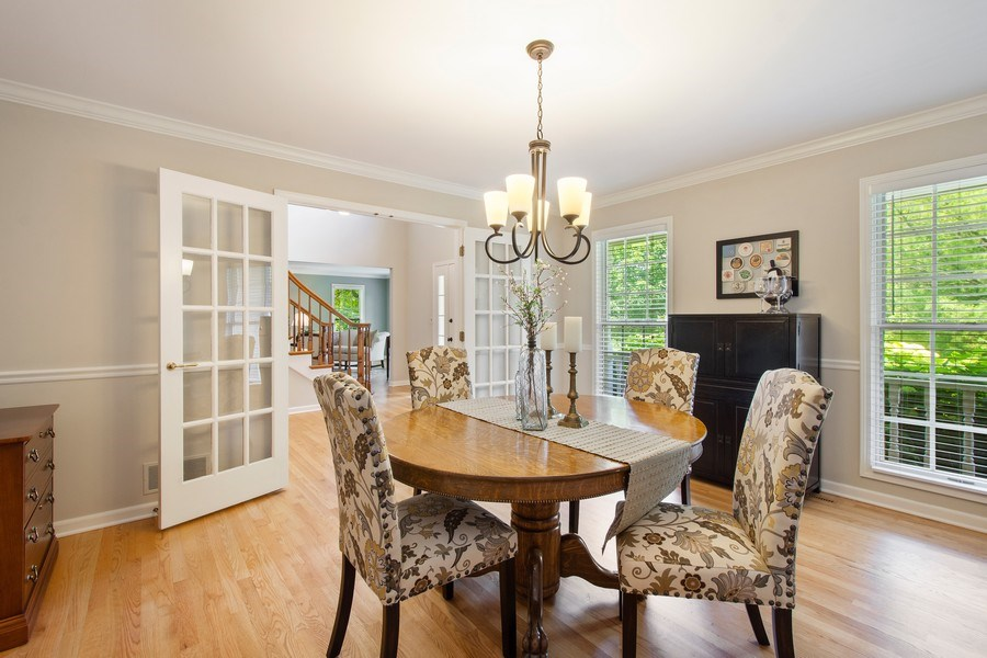 Real Estate Photography - 22480 N. Linden Drive, Lake Barrington, IL, 60010 - Dining Room