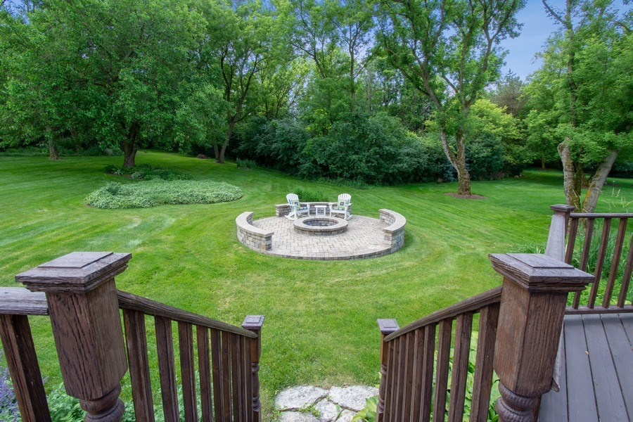 Real Estate Photography - 22480 N. Linden Drive, Lake Barrington, IL, 60010 - Back Yard
