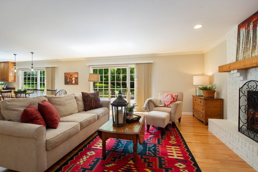Real Estate Photography - 22480 N. Linden Drive, Lake Barrington, IL, 60010 - Family Room