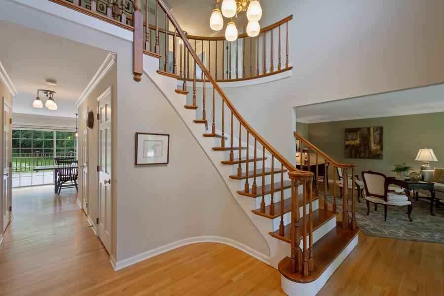 Real Estate Photography - 22480 N. Linden Drive, Lake Barrington, IL, 60010 - Foyer