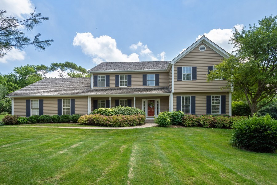 Real Estate Photography - 22480 N. Linden Drive, Lake Barrington, IL, 60010 - Front View