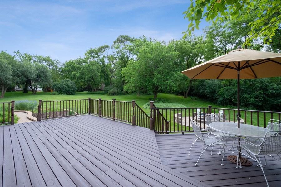 Real Estate Photography - 22480 N. Linden Drive, Lake Barrington, IL, 60010 - Deck