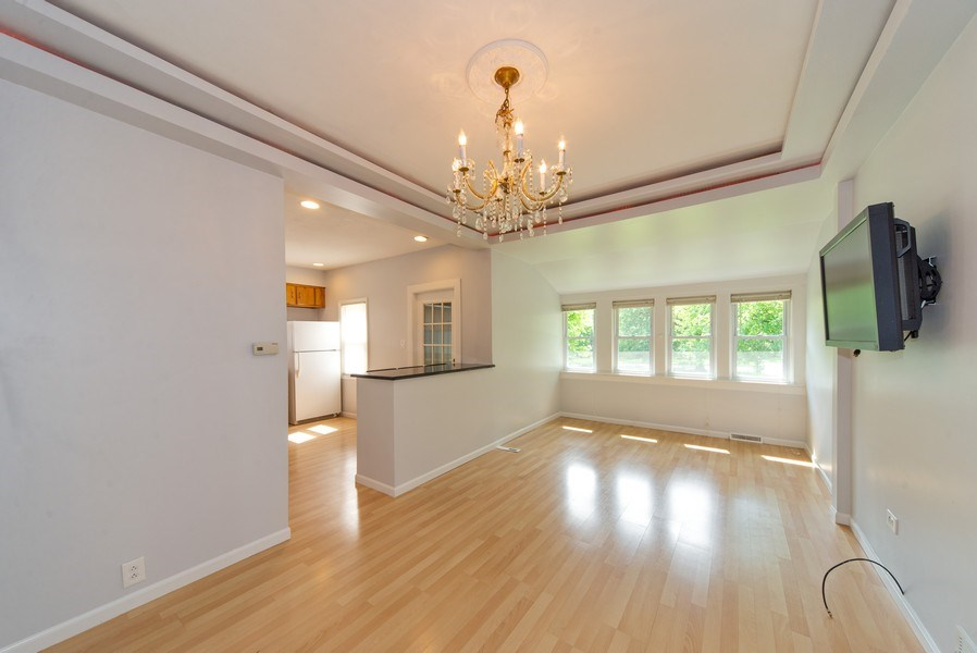 Real Estate Photography - 2057 N. Newland Avenue, Chicago, IL, 60707 - Living Room