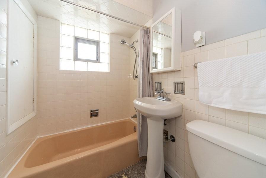 Real Estate Photography - 2057 N. Newland Avenue, Chicago, IL, 60707 - Bathroom