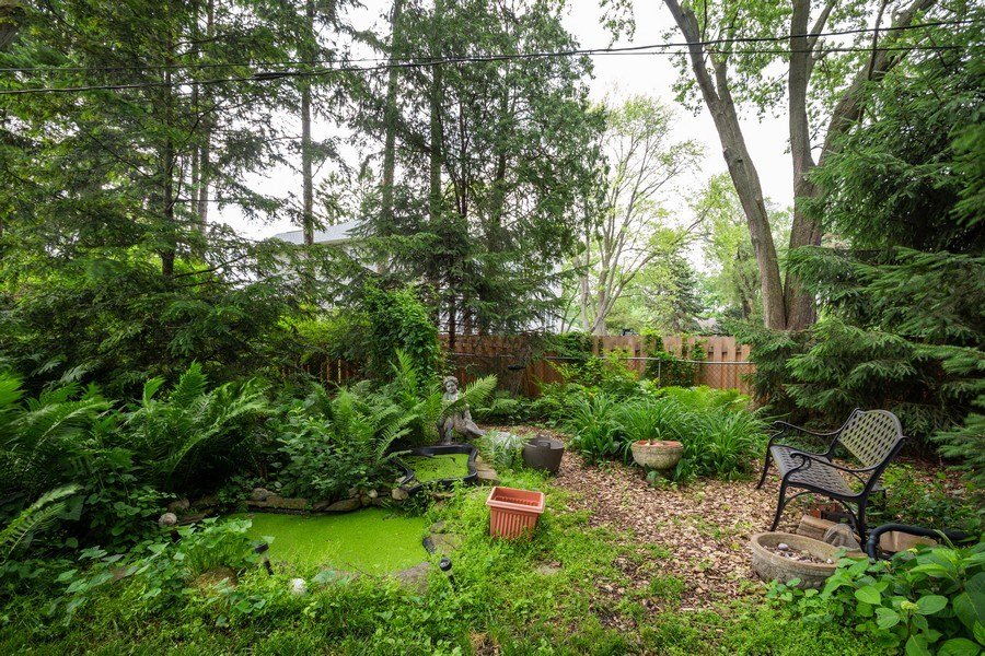 Real Estate Photography - 1209 W. Hawthorne Street, Arlington Heights, IL, 60005 - Back Yard