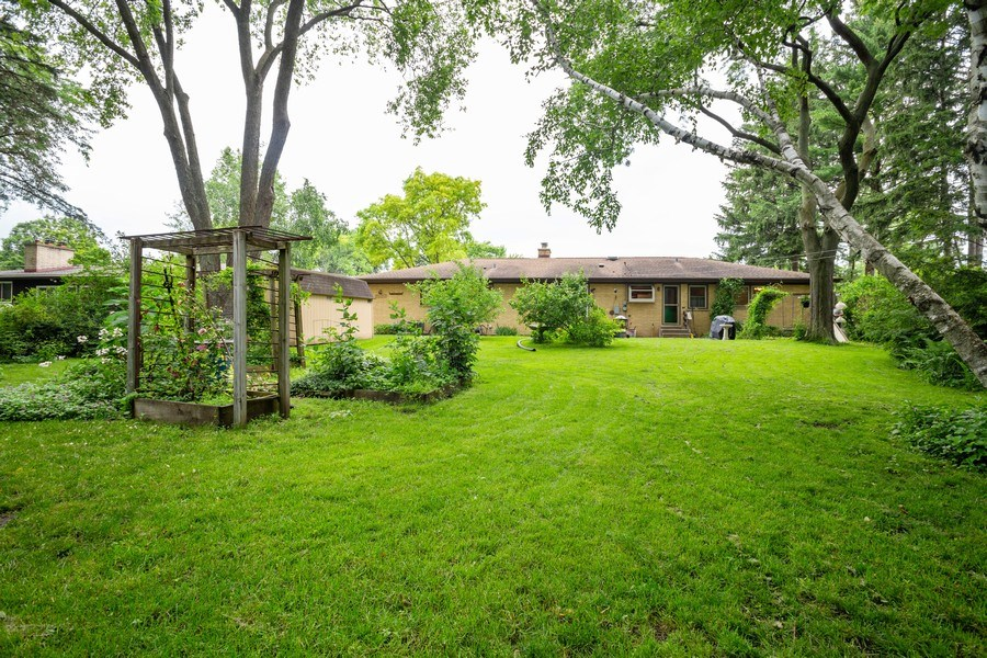 Real Estate Photography - 1209 W. Hawthorne Street, Arlington Heights, IL, 60005 - Rear View