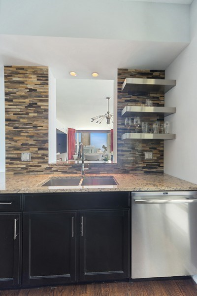 Real Estate Photography - 25 E. SUPERIOR Street, Unit 3205, Chicago, IL, 60611 - Kitchen