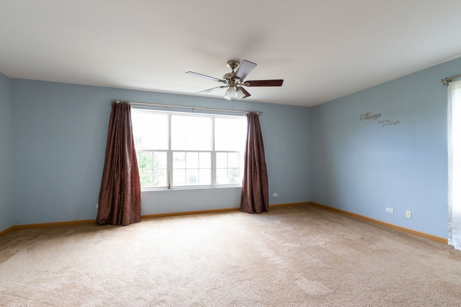 Real Estate Photography - 1270 W. Black Wolf Road, Round Lake, IL, 60073 - Master Bedroom