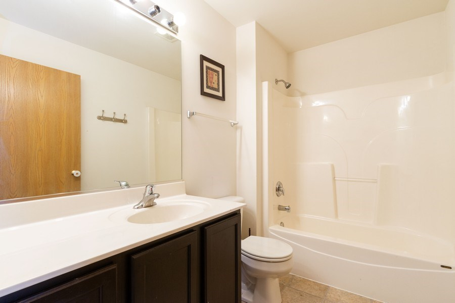 Real Estate Photography - 1270 W. Black Wolf Road, Round Lake, IL, 60073 - Bathroom