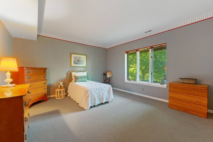 Real Estate Photography - 24841 South Drive, Tower Lakes, IL, 60010 - Bedroom