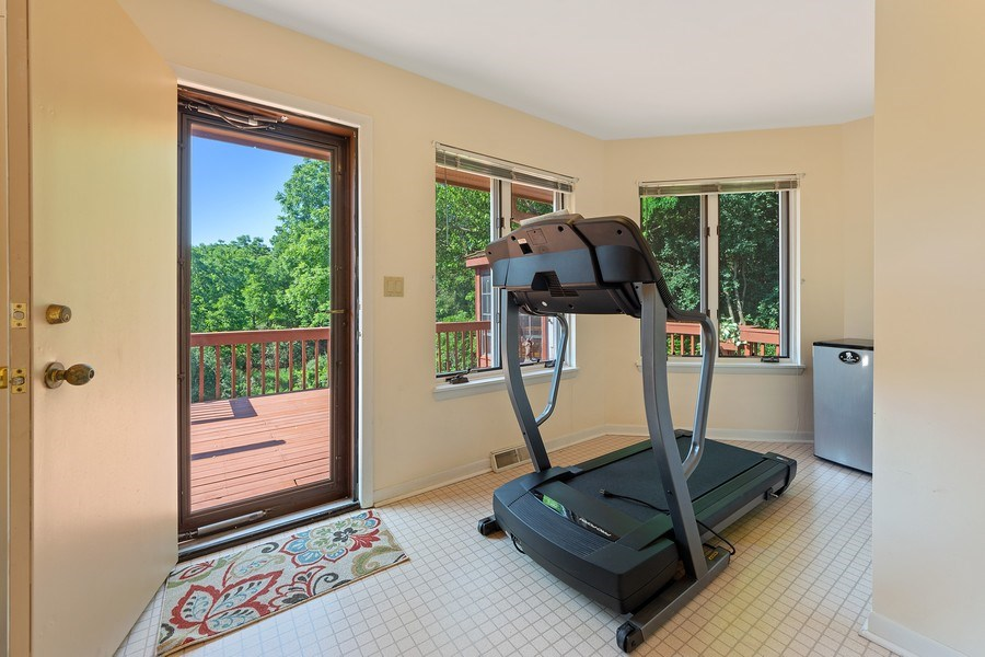 Real Estate Photography - 24841 South Drive, Tower Lakes, IL, 60010 - Exercise/Mud Room