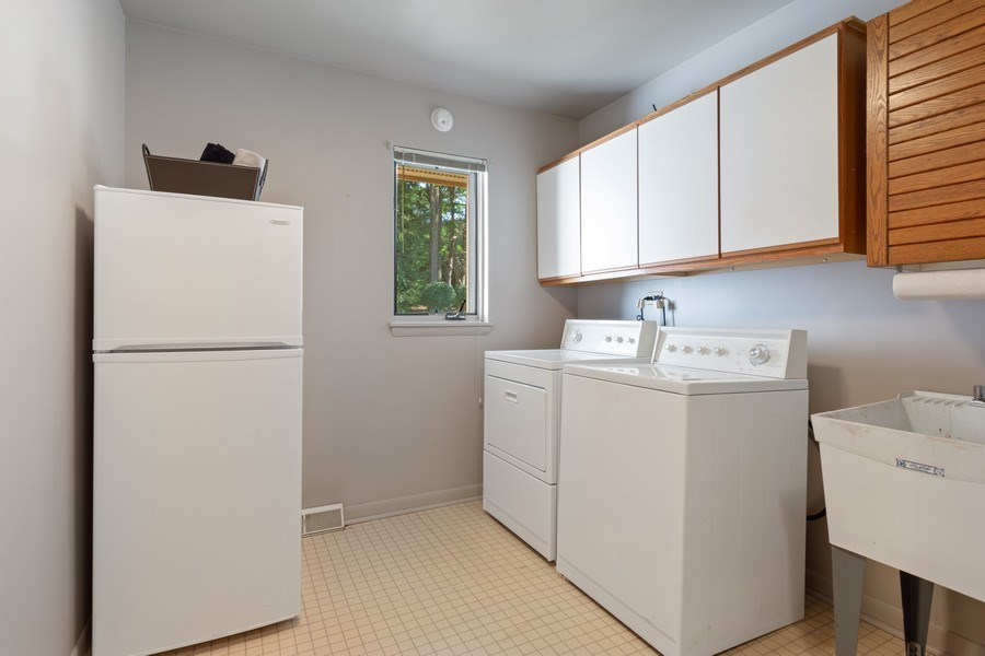 Real Estate Photography - 24841 South Drive, Tower Lakes, IL, 60010 - Laundry Room