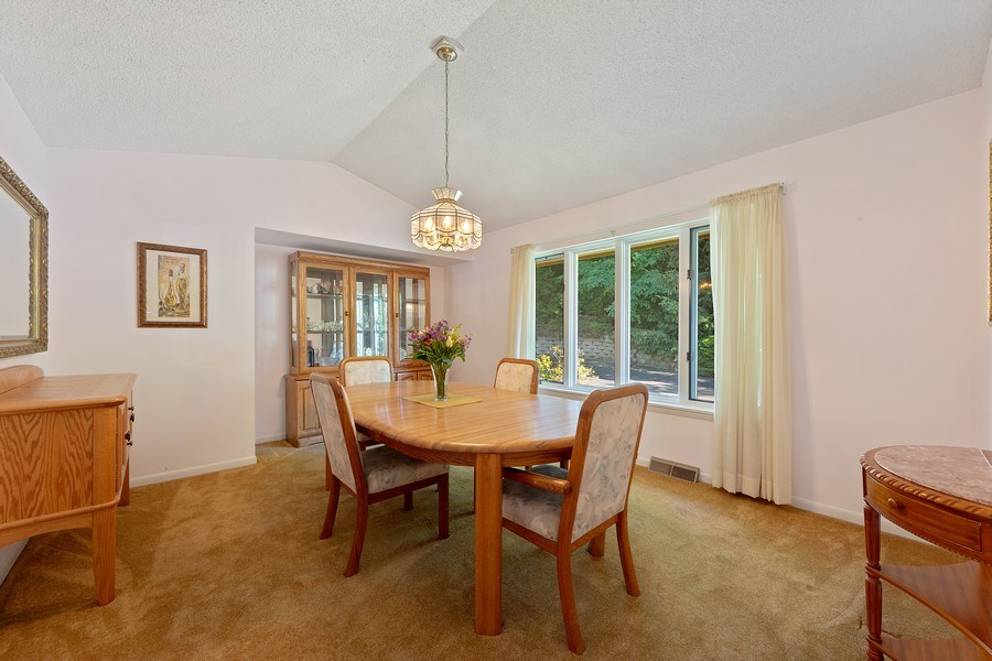 Real Estate Photography - 24841 South Drive, Tower Lakes, IL, 60010 - Dining Room