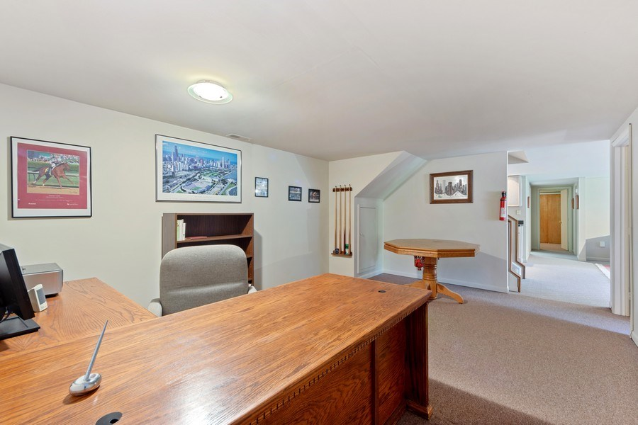 Real Estate Photography - 24841 South Drive, Tower Lakes, IL, 60010 - Office