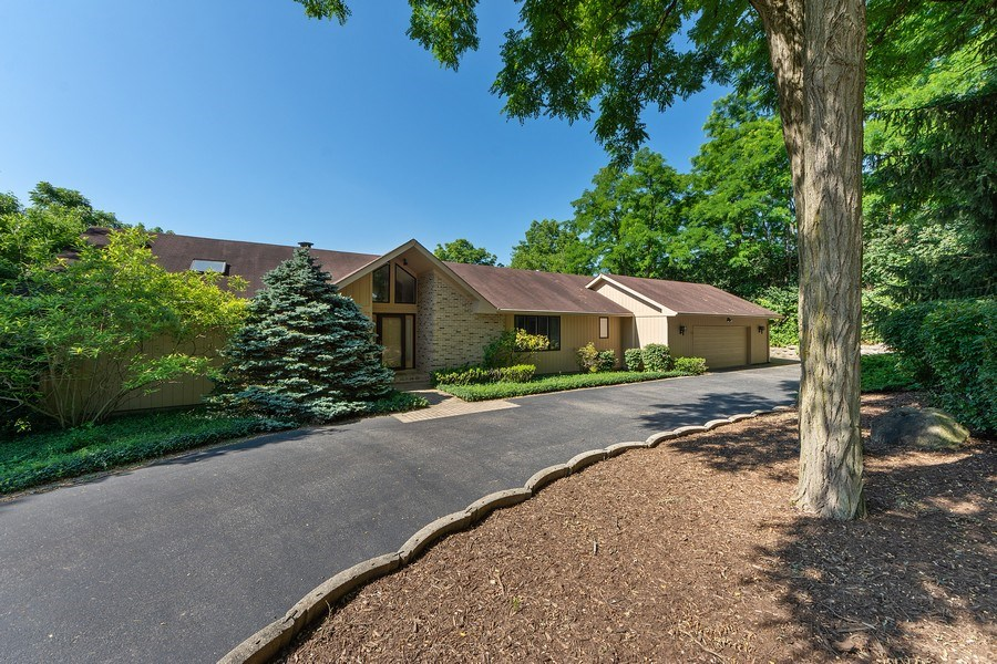 Real Estate Photography - 24841 South Drive, Tower Lakes, IL, 60010 - Front View