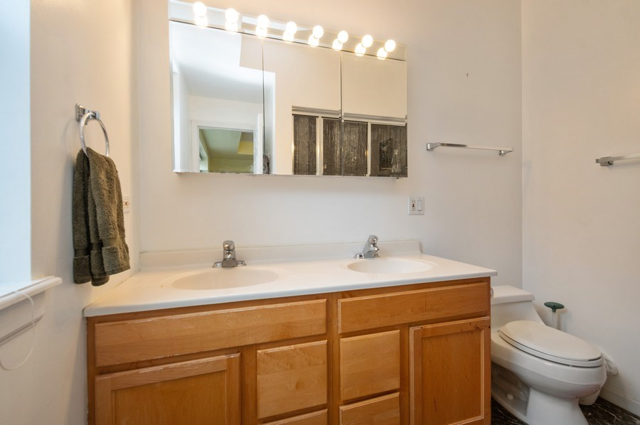 Real Estate Photography - 7321 N. Honore Street, Unit 3S, Chicago, IL, 60626 - Master Bathroom