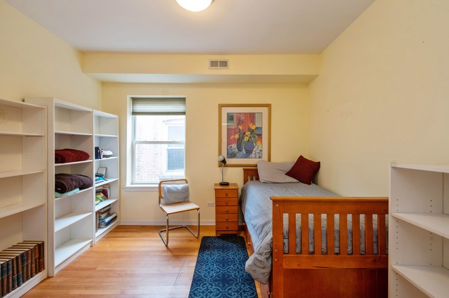 Real Estate Photography - 7321 N. Honore Street, Unit 3S, Chicago, IL, 60626 - 2nd Bedroom