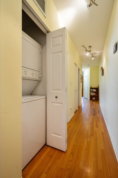 Real Estate Photography - 7321 N. Honore Street, Unit 3S, Chicago, IL, 60626 - Laundry Room